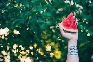 Scripture & Watermelon