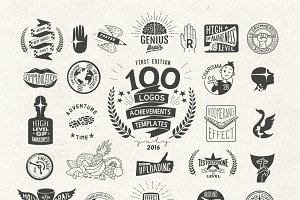 100 Logos Mega Bundle