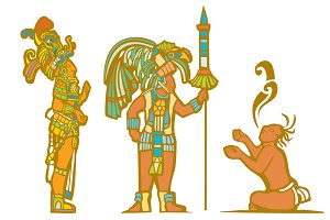 Mayan Lords & Captive
