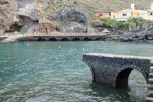 Natural pools in El Hierro.