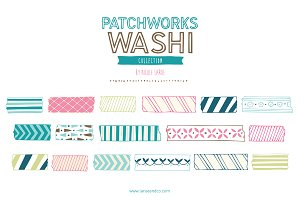 Patchworks Washi (Vector)