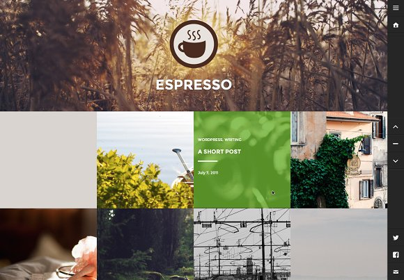 Espresso in WordPress Blog Themes - product preview 1