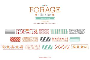 Forage Stickies (Clipart)