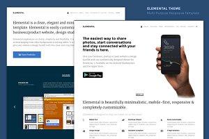 Elemental - Minimal & Elegant Theme