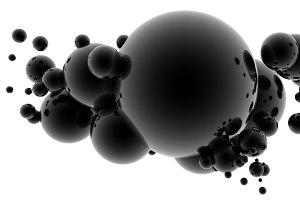 3D Geometric Shape - Paint Splat