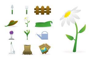 Garden & Summer Vector Icons