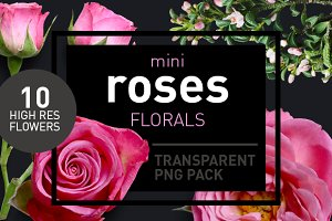 Mini Roses - Transparent Pngs