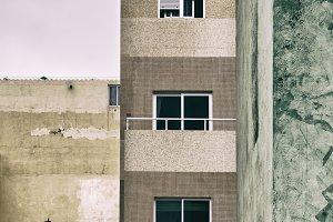 sad buildings