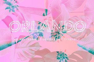Orlando | An 80's Inspired Font