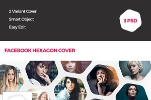 Hexagon Facebook Cover