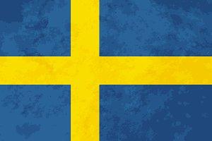 True proportions Sweden flag