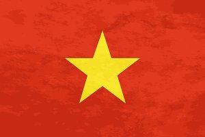 True proportions Vietnam flag