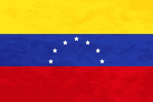 True proportions Venezuela flag