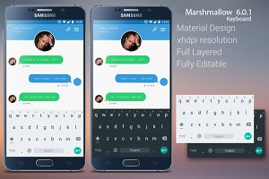 Android Marshmallow 6.0.1 Keyboard