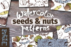 Seeds & Nuts Patterns