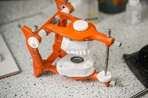 Equipment in dental laboratory
