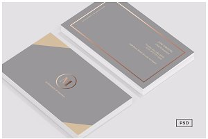 Formal Business Card Template