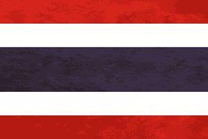 True proportions Thailand flag