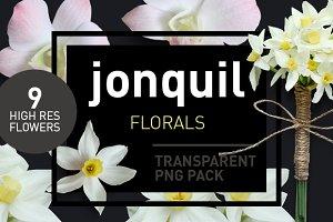 Jonquil Florals - Transparent Pngs