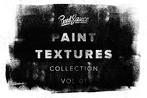 24 Vector Paint Textures - 20% off
