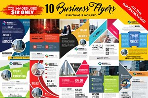 10 Business Flyers Pack