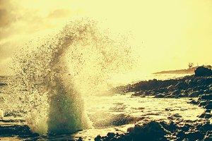 Sea Explosion