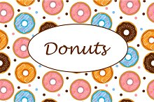 Set of patterns with donuts