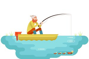 Adult Fisherman