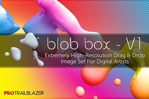 Blob Box V1 - Hi-Res Brushes Set