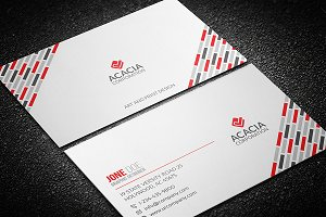 Clean & Elegant Business Card