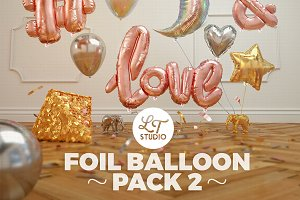 Foil Balloon Pack 2 / SALE! 30% Off