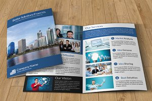 Corporate brochure template -V29