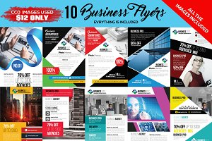 10 Corporate Flyers Pack