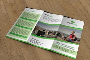 Trifold Business Brochure - V30
