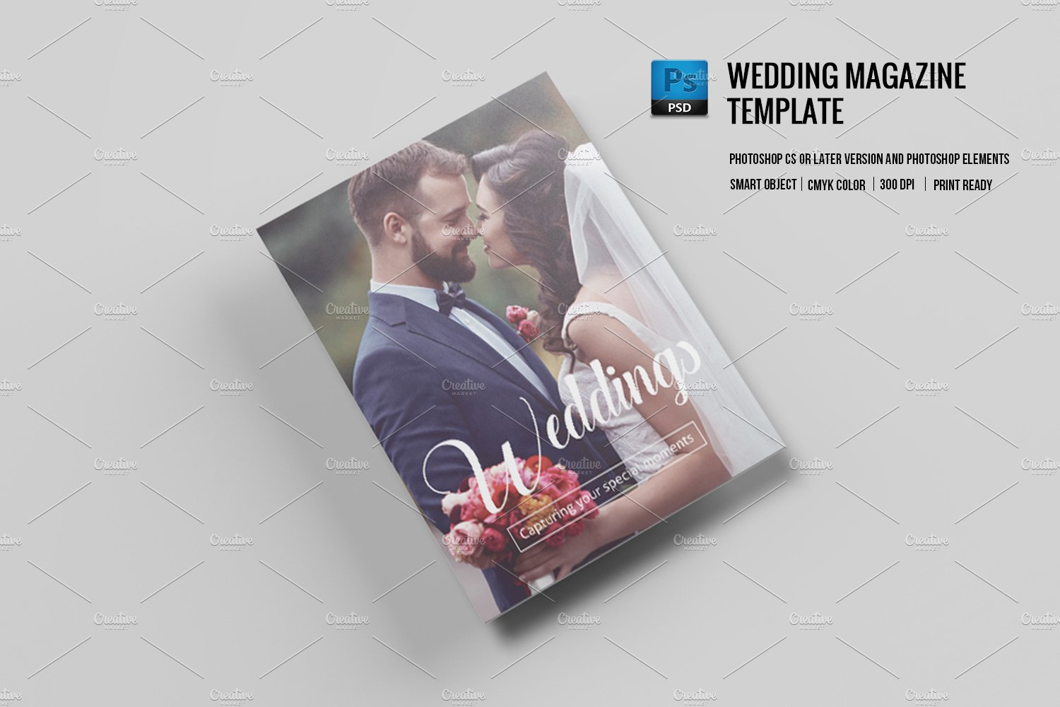 Wedding photography magazine v577 magazine templates for Wedding photography magazine template