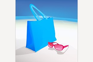 Beach Bag and Spectacles