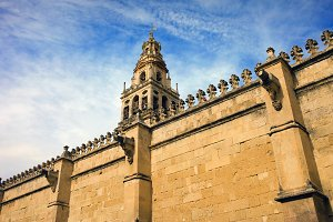 Mezquita Wall and Tower in Cordoba