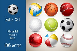 ⚽︎ Sports Balls Set