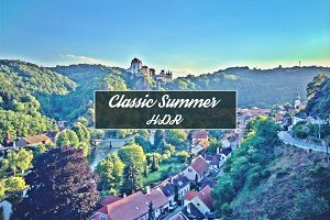 Classic Summer HDR  | 4 PS Actions