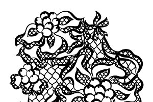 Lace ornamental backgrounds.