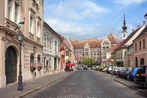 Fortuna Street in Budapest