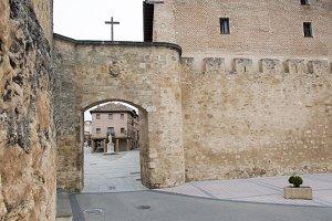 Entering El Burgo de Osma