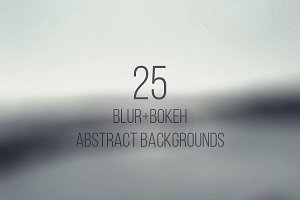 Blur+Bokeh Abstract Backgrounds