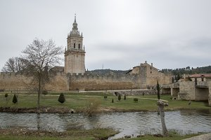 River and bell tower