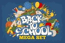 ✍ Back to school mega set