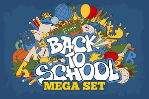 ✍ Back to school mega set