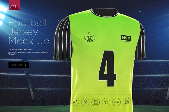 Download Football Jersey Mock-up