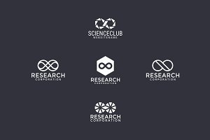 5 logos with infinity sign (1)
