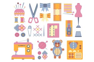 Handicraft and Sewing Icons