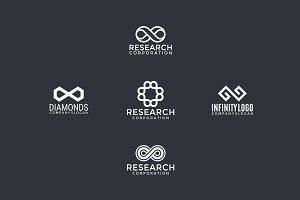 5 logos with infinity sign (2)